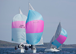 Sailing - SCOTLAND  - 25th May 2018<br /> <br /> Opening days racing the Scottish Series 2018, organised by the  Clyde Cruising Club, with racing on Loch Fyne from 25th-28th May 2018<br /> <br /> Hunter 707, GBR7060N, Seaword, Dara O'Malley, PEYC<br /> <br /> Credit : Marc Turner<br /> <br /> Event is supported by Helly Hansen, Luddon, Silvers Marine, Tunnocks, Hempel and Argyll & Bute Council along with Bowmore, The Botanist and The Botanist