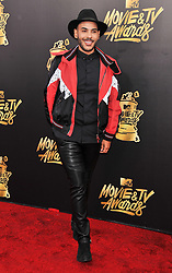 Hugo Gloss at the 2017 MTV Movie And TV Awards held at The Shrine Auditorium on May 7, 2017 in Los Angeles, California.<br /><br />(Photo by Sthanlee Mirador) *** Please Use Credit from Credit Field ***