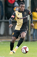 Football - 2020 / 2021 FA Trophy - Round Two - Marine vs Hyde United - Rossett Park<br /> <br /> <br /> Marine FC's Mo Touray in action during todays match  <br /> <br /> <br /> COLORSPORT/TERRY DONNELLY