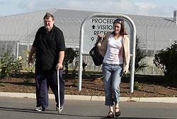 EXCLUSIVE: Natasha Ryan, The Girl in the Cupboard visits convicted partner Scott Black at Rockhampton Correctional Centre. 19 Aug 2005 Pictured: Natasha Ryan and Dave Black. Scott Black's father. Photo credit: MEGA TheMegaAgency.com +1 888 505 6342