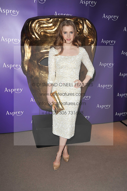 AMY ADAMS at the BAFTA Nominees party 2011 held at Asprey, 167 New Bond Street, London on 12th February 2011.