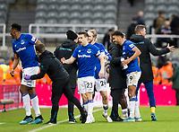 Football - 2019 / 2020 Premier League - Newcastle United vs. Everton<br /> <br /> Dominic Calvert-lewin of Everton at full time, at St James' Park Stadium.<br /> <br /> COLORSPORT/BRUCE WHITE