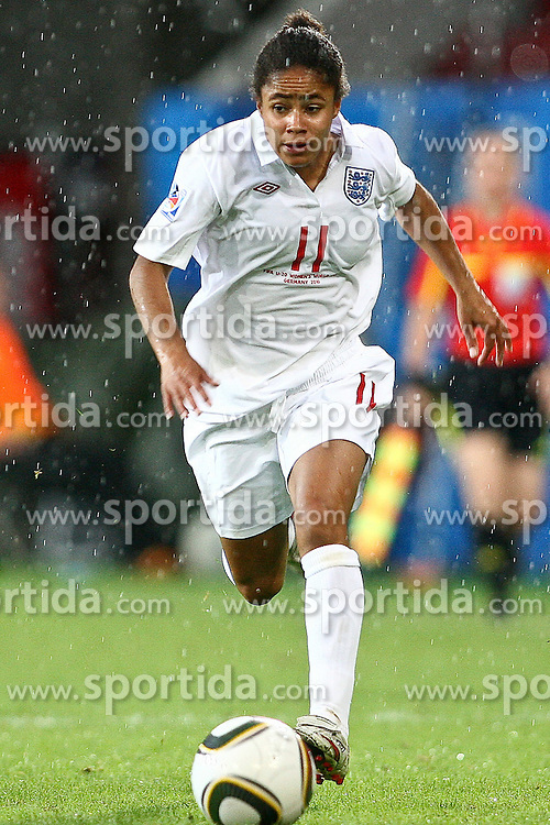 17.07.2010,  Augsburg, GER, FIFA U20 Womens Worldcup, England vs Mexico,  im Bild Demi Stokes (England Nr.11) , EXPA Pictures © 2010, PhotoCredit: EXPA/ nph/ . Straubmeier+++++ ATTENTION - OUT OF GER +++++ / SPORTIDA PHOTO AGENCY