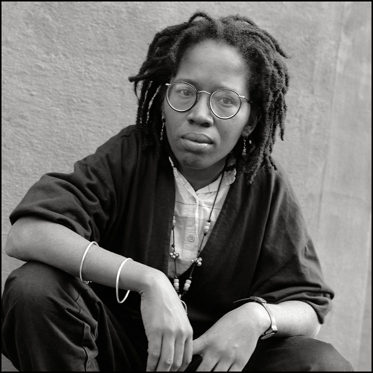 Joan Gibbs, photographed in October of 1989, is an attorney, activist, writer and speaker. She has been active in the US movement for social and economic justice since the late 1960s, most significantly the anti-racist, women's and LGBT movements.