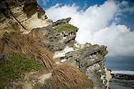 Rocks near Kapupurawan Rock Formation.<br /> Ilocos Sur and Ilocos Norte are the Filipino provinces situated on Luzon Island and famous for heritage town of Vigan, windmills of Bangui, white sand beach of Pagudpud not to mention former president Marcos, who was born there.