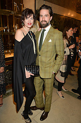 JASMINE GUINNESS and JACK GUINNESS at the LDNY Fashion Show and WIE Award Gala sponsored by Maserati held at The Goldsmith's Hall, Foster Lane, City of London on 27th April 2015.