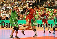 håndball, ehf, oslo spektrum, Herrer, Norge, Hviterussland  04.juni 2016<br />Gøran Søgård Johannessen, Norge<br />Foto: Ole Fjalsett