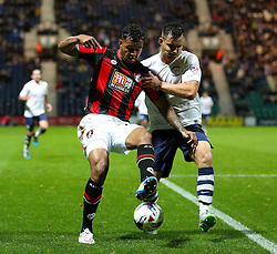 Josh King of Bournemouth - Mandatory byline: Matt McNulty/JMP - 07966386802 - 22/09/2015 - FOOTBALL - Deepdale Stadium -Preston,England - Preston North End v Bournemouth - Capital One Cup - Third Round