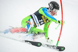 Matevz Rupnik (SLO) during 1st run of Men's Slalom race of FIS Alpine Ski World Cup 57th Vitranc Cup 2018, on March 4, 2018 in Podkoren, Kranjska Gora, Slovenia. Photo by Ziga Zupan / Sportida