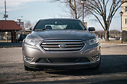 """BIRMINGHAM, AL – JANUARY 27, 2016: A 2014 Ford Taurus owned by John George. When purchasing the vehicle in 2013, George became frustrated when the dealership informed him he was ineligible for special financing due to poor credit. George, who is financially stable, has purchased multiple vehicles with cash in his lifetime and decided early on to """"not play the credit game. It's just the way I was raised,"""" George said. """"You only borrowed money for an asset that appreciates in value. If you had the money you bought it, and if you didn't have the money, you didn't. It was that simple.""""<br /> CREDIT: Bob Miller for The New York Times"""