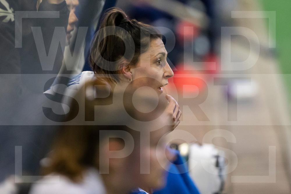 Laren, Hoofdklasse Hockey Dames, Seizoen 2020-2021, 15-04-2021, Laren - Kampong 2-1, Malou Pheninckx (Kampong)<br /><br /> COPYRIGHT WORLDSPORTPICS WILLEM VERNES
