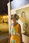 Paul Gauguin Cultural Center, Atuona, Hiva Oa, Marquesas, French Polynesia, (Editorial use only)<br />
