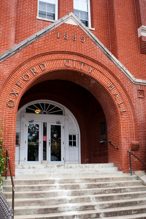 Oxford City Hall, Oxford Mississippi.