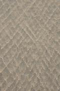 Diamond-shaped patterns in the beach sand, Ogunquit, Maine.