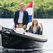 NLD/Warmond//20170707 - Koninklijke fotoshoot zomer 2017, Koning Willem Alexander en prinses Amalia