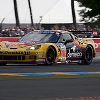 #50 Chevrolet Corvette C6 ZR1, Larbre Competition, Drivers: Bornhauser/Canal/ Lamy, Le Mans 24H, 2012