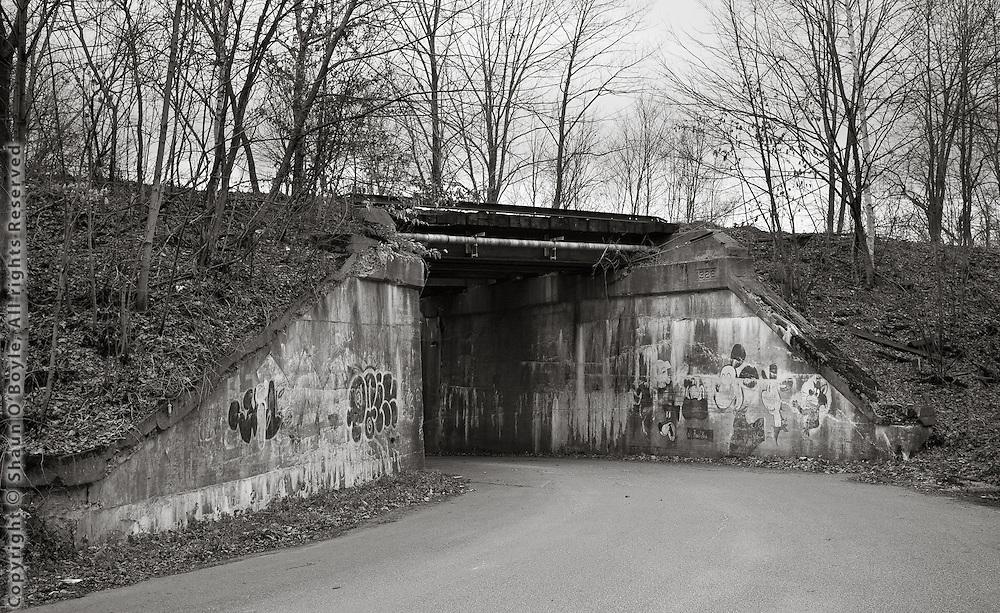 Mickey Mouse Bridge, Hinsdale, MA