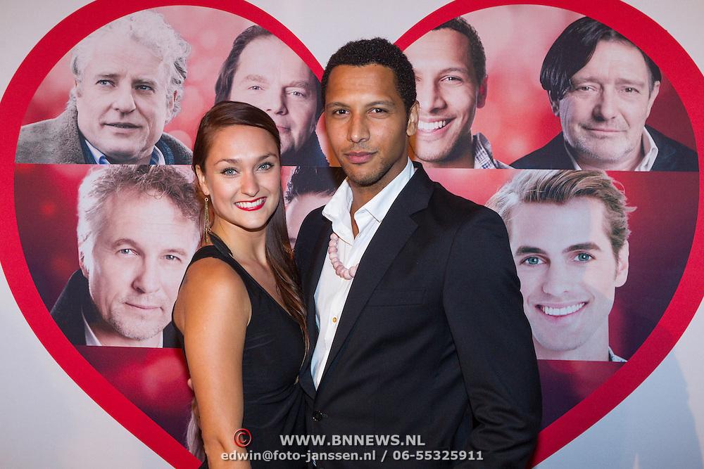 NLD/Scheveningen/20130909 -  Filmpremiere Smoorverliefd, Melody Klaver en tarikh Janssen