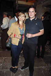 DAN DONOVAN and KATHERINE EYKELENBOOM at the Stephen Webster launch party of his latest jewellery collection during the London Jewellery Week, at Wilton's Music Hall, Graces Alley, Off Ensign Street, London E1 on 12th June 2008.<br /><br />NON EXCLUSIVE - WORLD RIGHTS