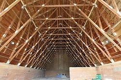 Second Photo Shoot Progress View. CT-DOT East Granby Salt Shed Rehabilitation Project. No. 039-097