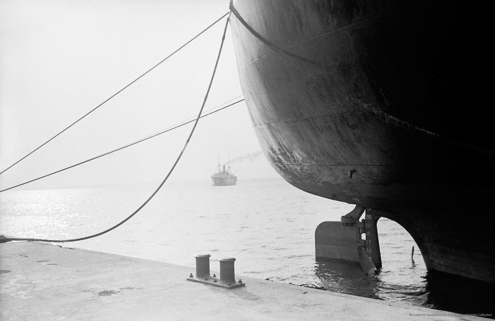 Ships, Camaroon, Africa, 1937