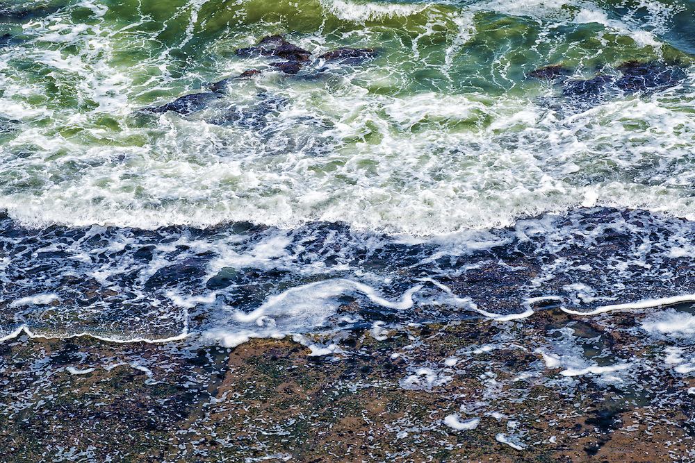 Abstract sea water at the Atlantic coast, Morocco.