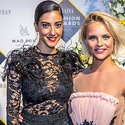 NLD/Amsterdam/20170829 - Grazia Fashion Awards 2017, Toprak Yalcinar en Stijn Fransen