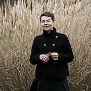 Marianne Mikkelsen. Photographed in the Bonical Gardens in Århus, Denmark.<br /> <br /> From the series 50:202