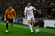 George Friend (3) of Middlesbrough during the The FA Cup match between Newport County and Middlesbrough at Rodney Parade, Newport, Wales on 5 February 2019.