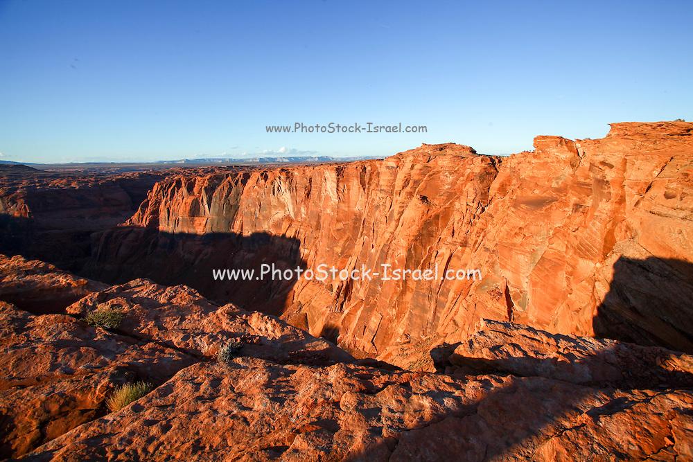 Landscape around Horseshoe Bend Colorado River Arizona USA