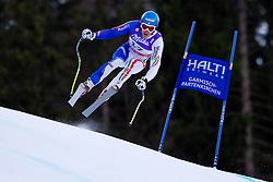 10.02.2011, Kandahar, Garmisch Partenkirchen, GER, FIS Alpin Ski WM 2011, GAP, Herren Abfahrtstraining, im Bild Christof Innerhofer (ITA) takes to the air competing in the first men's downhill training run on the Kandahar race piste at the 2011 Alpine skiing World Championships, EXPA Pictures © 2011, PhotoCredit: EXPA/ M. Gunn