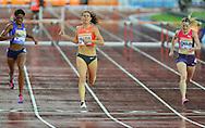 Zuzana Hejnova winner of womens 400m hurdles at the Sainsbury's Anniversary Games at the Queen Elizabeth II Olympic Park, London, United Kingdom on 24 July 2015. Photo by Mark Davies.