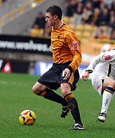 Wolverhampton v Leeds United  (1-0) Championship 24/02/2007<br /> Darren Potter  (Wolves)<br /> Photo Roger Parker Fotosports International