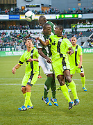 Game action between the Portland Timbers v Wilmington Hammerheads