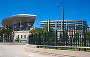 Soldier Field home of the NFL Chicago Bears football team at the edge of Museum Campus.  Chicago Illinois USA