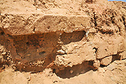 Israel, Negev, Tel Be'er Sheva believed to be the remains of the biblical town of Be'er Sheva