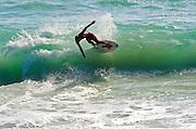 Surfing Aliso Beach Orange County California