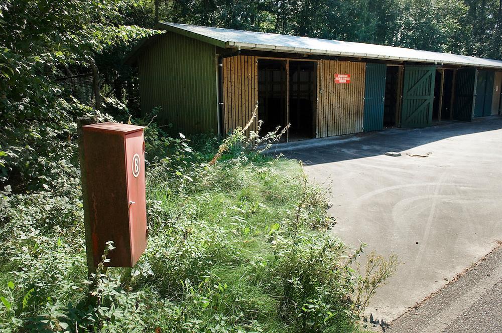 Nederland, Voorst, 21 sept 2006.Mobilisatiecomplex Wilp te Voorst.Complex wordt afgestoten door Defensie....Foto: (c) Michiel Wijnbergh