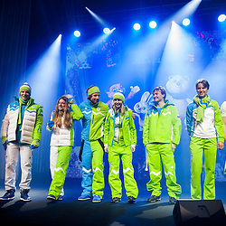 20140122: SLO, Olympic Games - Team Slovenia for Sochi 2014 Winter Olympic Games