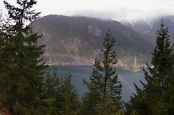 Diablo Lake, North Cascades National Park, Washington, US