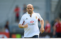 30 May 2013; Rory Best, British & Irish Lions, during squad training ahead of their game against Barbarian FC on Saturday. British & Irish Lions Tour 2013, Squad Training, Aberdeen Sports Ground, Aberdeen, Hong Kong, China. Picture credit: Stephen McCarthy / SPORTSFILE