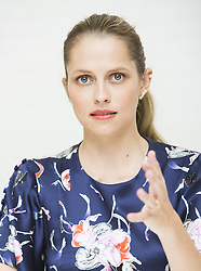 May 22, 2017 - Hollywood, California, U.S. - TERESA PALMER promotes 'Berlin Syndrome.' Teresa Mary Palmer (born February 26, 1986) is an Australian actress, writer, producer and model who made her film debut in the suicide drama 2:37. She starred in the 2013 film Warm Bodies as a young woman who falls in love with a zombie, and as Rebecca in the 2016 horror film Lights Out. She has further appeared in films such as December Boys, The Sorcerer's Apprentice, I Am Number Four, Take Me Home Tonight, Love and Honor, The Ever After (which she co-wrote and co-produced with her husband), Kill Me Three Times, the 2015 remake of Point Break, Triple 9, The Choice, Hacksaw Ridge, 2:22 (2017), Berlin Syndrome (2017), Message from the King (2016),  (Credit Image: © Armando Gallo via ZUMA Studio)
