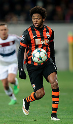17.02.2015, Arena Lwiw, Lwiw, UKR, UEFA CL, Schachtar Donezk vs FC Bayern Muenchen, Achtelfinale, Hinspiel, im Bild LUIZ ADRIANO // during the UEFA Champions League Round of 16, 1st Leg match between between Schachtar Donezk and FC Bayern Munich at the Arena Lwiw in Lwiw, Ukraine on 2015/02/17. EXPA Pictures © 2015, PhotoCredit: EXPA/ Pixsell/ RAFAL OLEKSIEWICZ<br /> <br /> *****ATTENTION - for AUT, SLO, SUI, SWE, ITA, FRA only*****