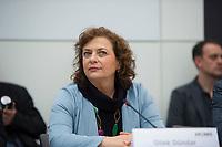 DEU, Deutschland, Germany, Berlin, 12.04.2016: Die Journalistin Dilek Dündar, Ehefrau des angeklagten Cumhuriyet-Chefredakteurs, bei der Fraktionssitzung der Linkspartei im Deutschen Bundestag.