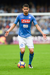 October 29, 2017 - Naples, Naples, Italy - Jorginho of SSC Napoli during the Serie A TIM match between SSC Napoli and US Sassuolo at Stadio San Paolo Naples Italy on 29 October 2017. (Credit Image: © Franco Romano/NurPhoto via ZUMA Press)