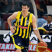 Fenerbahce Ulker's Darjus LAVRINOVIC during their Turkish Basketball league Play Off Final fourth leg match Galatasaray between Fenerbahce Ulker at the Abdi Ipekci Arena in Istanbul Turkey on Saturday 11 June 2011. Photo by TURKPIX