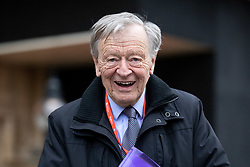 © Licensed to London News Pictures. 15/01/2019. London, UK. Lord Alf Dubs seen walking through Westminster. This evening, MPs are due to vote on British Prime Minister Theresa May's EU withdrawal deal, after the previous vote in December was postponed. Photo credit : Tom Nicholson/LNP