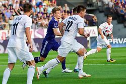 Luka Susnjara of NS Mura during football match between NK Maribor and NS Mura in 2nd Round of Prva liga Telekom Slovenije 2018/19, on July 29, 2018 in Ljudski vrt, Maribor, Slovenia. Photo by Mario Horvat / Sportida