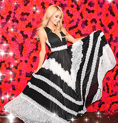 """Paris Hilton releases a photo on Twitter with the following caption: """"""""@ParisHilton INVENTED tv. The simple life is literally one of THE best reality tv shows that blessed our generation"""""""". Photo Credit: Twitter *** No USA Distribution *** For Editorial Use Only *** Not to be Published in Books or Photo Books ***  Please note: Fees charged by the agency are for the agency's services only, and do not, nor are they intended to, convey to the user any ownership of Copyright or License in the material. The agency does not claim any ownership including but not limited to Copyright or License in the attached material. By publishing this material you expressly agree to indemnify and to hold the agency and its directors, shareholders and employees harmless from any loss, claims, damages, demands, expenses (including legal fees), or any causes of action or allegation against the agency arising out of or connected in any way with publication of the material."""