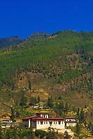 Paro Dzong Monastery,  Paro Valley, Bhutan